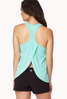 Tulip Back Workout Tank from forever 21. I need this!! Love the open back.
