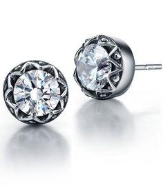 Arco Iris Jewelry – Joya hecha de acero inoxidable Pendientes con detalle hecho de Zirconia Cúbica – en forma redonda – Talla  ¿Te ha gustado? Visita http://todohalloween.ovh/tienda/arco-iris-jewelry-joya-hecha-de-acero-inoxidable-pendientes-con-detalle-hecho-de-zirconia-cubica-en-forma-redonda-talla/