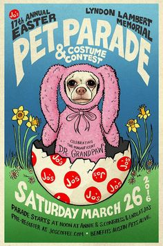 17th Annual Easter Pet Parade & Costume Contest in Austin at Jo's