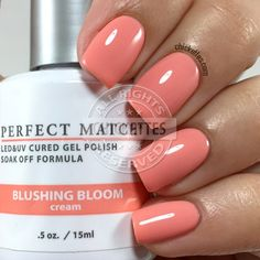 LeChat Blushing Bloom - swatch by Chickettes.com