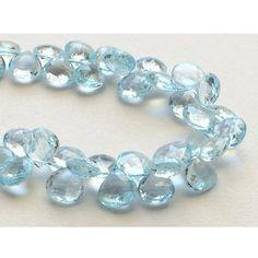 Swiss Blue Topaz Blue Topaz Beads Original Blue by gemsforjewels