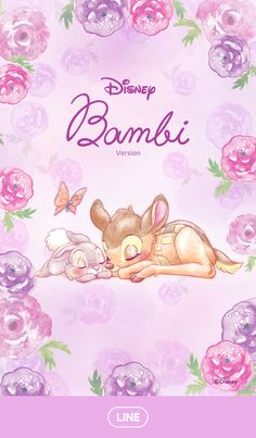 New Ideas wall paper whatsapp pink iphone Bambi Disney, Disney Dream, Disney Art, Disney Pixar, Cartoon Wallpaper, Lines Wallpaper, Disney Phone Wallpaper, Kawaii Wallpaper, Iphone Wallpaper