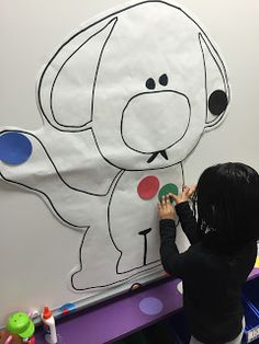 Lee's Kindergarten: Dog's Colorful Day Centers and Activities Color Activities, Kindergarten Activities, Preschool Activities, D Is For Dog, Classroom Pets, Daycare Themes, Preschool Colors, Kindergarten Language Arts, Animal Projects