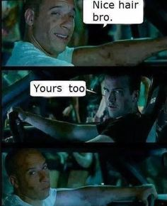 15 Fast And Furious Memes That'll Leave You Laughing With Tears Fast And Furious Memes, Fast And Furious Actors, American Funny Videos, Funny Dog Videos, Funny Baby Images, Funny Photos, Funny Cartoons, Funny Jokes, Stupid Funny
