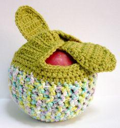 Crocheted Apple Cozy - Lucas school
