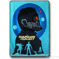 Images of Guardians of the Galaxy Poster Fleece Throw Blanket