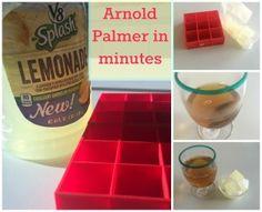 How To Make The Easiest Arnold Palmer Ever | http://www.hispanaglobal.net/make-easiest-arnold-palmer-ever/ #V8Splash