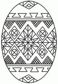 Ukrainian Easter Egg Coloring Pages Bing Images Coloring Easter Eggs Easter Egg Designs Easter Egg Coloring Pages