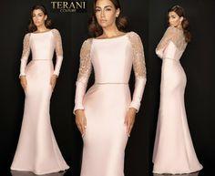 TERANI COUTURE 2011M2457 authentic dress. FREE FEDEX. BEST PRICE   eBay Terani Couture, Bride Gowns, Wedding Dresses, Long Sleeve, Free, Ebay, Fashion, Bride Dresses, Bride Dresses