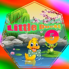 Five Little Ducks Little Duck, Five Little, Music For Kids, Kids Songs, Kindergarten Songs, Quack Quack, Best Songs, Ducks, Comebacks