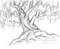 tree drawing | Tree Sketch by Savari07 on deviantART