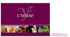 Création du site Internet de l'hôtel restaurant Château de l'Yeuse près de Cognac, en Charente