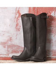 Independent Boot Company Women's McKinley Boot  - Pebbled Black  http://www.countryoutfitter.com/products/56791-womens-mckinley-boot-pebbled-black