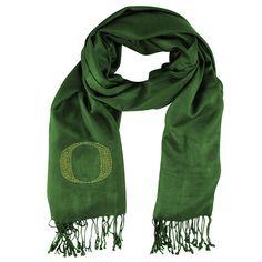 Oregon Ducks NCAA Pashi Fan Scarf (Green)
