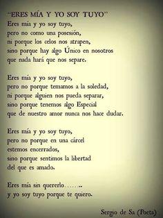 Sergio de Sa. / eres mia y yo soy tuyo