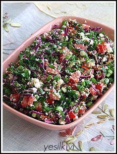 cevizli lorlu salata