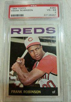1964 Topps Frank Robinson Cincinnati Reds