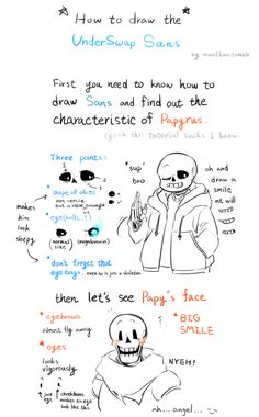 Anonymous said: How does one draw underswap Sans I need to know, teach me your ways... Please? Answer: sorry took it so long >_ sorry for my bad English and ugly words and suck tutorial m( _ _;)m hope...
