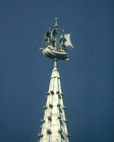 The weathervane on the SUNY building, weighing in at around 800 pounds, is the largest working weathervane in North America.