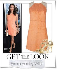 """""""Get The Look - Emma Heming-Willis"""" by renatademarchi ❤ liked on Polyvore"""