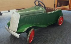 1930s French Vintage Pedal.Car .