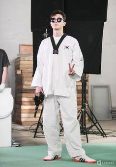 Park Seo Joon Fight for my way Asian Actors, Korean Actors, Korean Dramas, Korean Taekwondo, Joon Park, Bae, Park Seo Jun, Kim Ji Won, Seo Joon