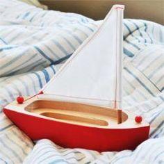 Wooden Sailing Boat Remodelista
