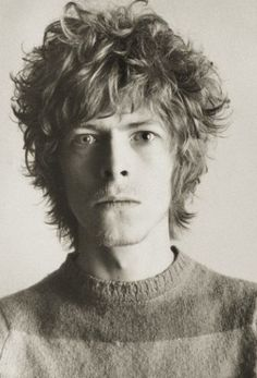 """I always had a repulsive need to be something more than human."" - David Bowie    Because he is a god."