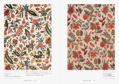 "Inside page of ""French Antique Textiles: Collections Made and Imported by Mulhouse, Toiles de Jouy and Souleiado"" - will be available later n July 2016! #Textile #Chintz #FrenchTextile #FrenchChintz #Fabrics #Mulhouse #ToilesdeJouy #Souleiado"