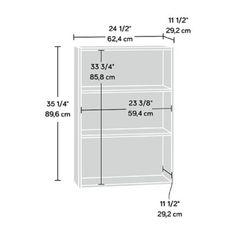 Red Barrel Studio® Richins Standard Bookcase | Wayfair 3 Shelf Bookcase, Small Bookcase, Bookshelves, Storage Bins, Locker Storage, Ikea Book, Sewing Room Design, Stack Of Books, Beige Walls