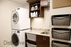 Home Remodeling and Renovations in Metro Atlanta, GA Remodeling Contractors, Home Remodeling, Stacked Washer Dryer, Laundry Room, Home Appliances, Storage, House, House Appliances, Purse Storage