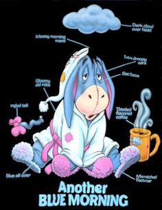poor Eeyore so cute! Eeyore Quotes, Winnie The Pooh Quotes, Disney Winnie The Pooh, Disney Magic, Disney Pixar, Eeyore Pictures, Winne The Pooh, Mickey Mouse, Cute Quotes