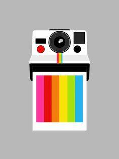 andrewharlow:    Instant Rainbow by Yumalum