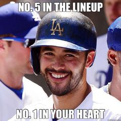 The always photogenic Andre Ethier.
