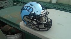 Tar Heel Chrome Helmet