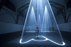 Berlino, le sculture di luce di Berlino nel Museo-stazione