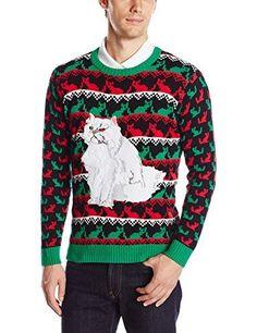 Blizzard Bay Men's Krazy Kitty Ugly Christmas Sweater - http://www.darrenblogs.com/2017/01/blizzard-bay-mens-krazy-kitty-ugly-christmas-sweater/