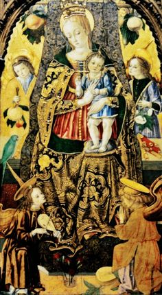 It's About Time: Madonnas attributed to Carlo Crivelli (Italian artist, c 1430-1495)