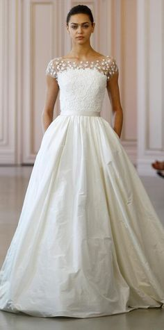 The Breathtaking Spring 2016 Wedding Dresses From Bridal Fashion Week - Spring 2016 from #InStyle
