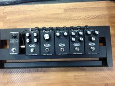 All new prototype Rockett pedals.