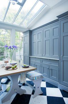 "georgianadesign: "" 'Chelsea bespoke kitchen.' Lewis Alderson & Co., luxury…"
