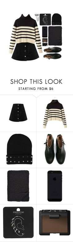 """milan fashion week #yoins"" by theglampedia ❤ liked on Polyvore featuring Acne Studios, Alicia Adams, Topshop, NARS Cosmetics, BOBBY, Packandgo and yoins"