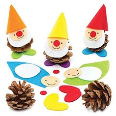 Zwerge basteln mit Kindern Ile ilgili görsel sonucu - Todo O Que Debes Saber Sobre Kindergarten Kits For Kids, Fun Crafts For Kids, Craft Activities For Kids, Christmas Crafts For Kids, Xmas Crafts, Creative Crafts, Preschool Crafts, Diy And Crafts, Pine Cone Crafts For Kids