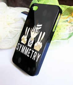 its all about the symmetry death the kid soul eater Samsung Galaxy s3 s4 case iPhone 5 5s 5c case iPhone 4/4s case