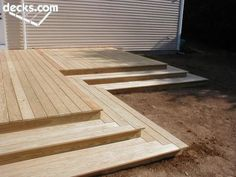 Captivating Like These Thick Deck Steps  DS