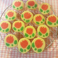 お花の可愛いアイスボックスクッキー by プクル [クックパッド] 簡単おいしいみんなのレシピが233万品