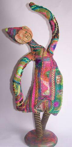 """The """"Dancer"""", doll by Pearl Red Moon"""