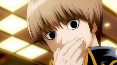 enjoyment that someone gets from being violent or cruel or from causing pain. Gintama Gif, Gintama Funny, Anime Guys, Manga Anime, Anime Art, Character Design Animation, Character Art, Samurai, Gintama Wallpaper