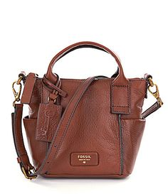 0b6926c9ba Fossil Emerson Mini Satchel  Dillards