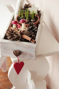Christmas gifting....using drawers/wooden boxes